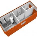 Модель комбинированного контейнера